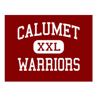 Calumet - Warriors - High School - Gary Indiana Postcard