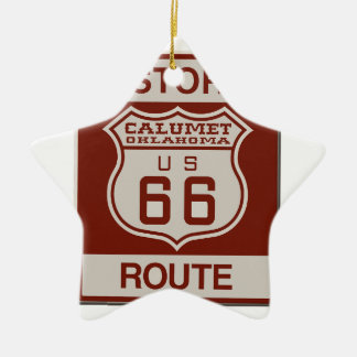 CALUMETOK66 CERAMIC ORNAMENT