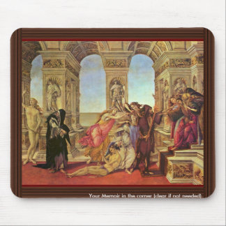 Calumny Of Apelles By Botticelli Sandro Mouse Pad
