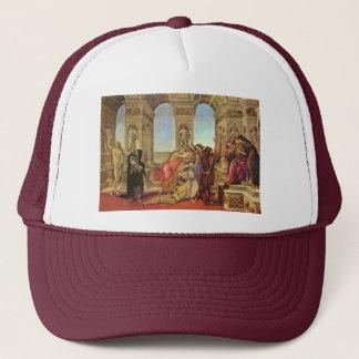 Calumny Of Apelles By Botticelli Sandro Trucker Hat