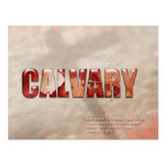 Calvary Postcard
