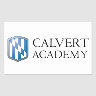 "Calvert Academy Stickers (4.5"" x 2.7"") Set of Four"