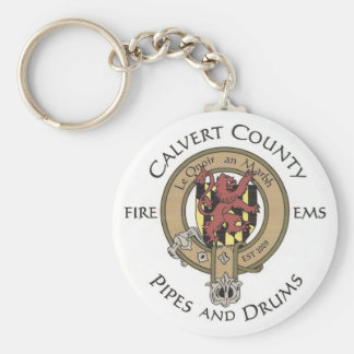 Calvert County Pipes and Drums Key Chain