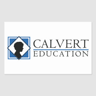"Calvert Education Stickers (4.5""x2.7"") Set of Four"