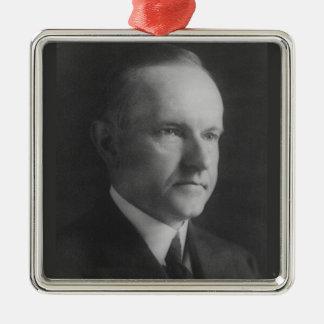 Calvin Coolidge 30th President Metal Ornament