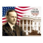Calvin Coolidge -  30th President of the U.S. Postcard