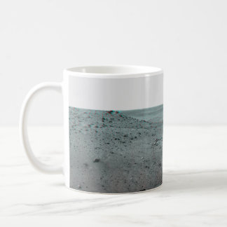 Calypso Panorama of Spirit's View from Troy in 3D Classic White Coffee Mug