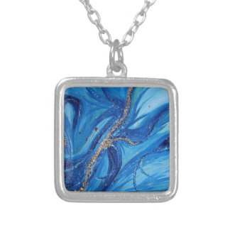"""Calypso"" Silver Plated Necklace"