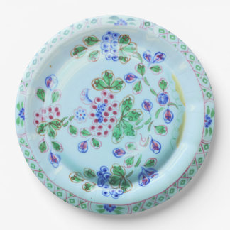 Calyx Ware Old Bow Vintage Design Paper Plate