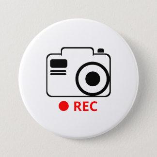 Cam 3 Inch Round Button