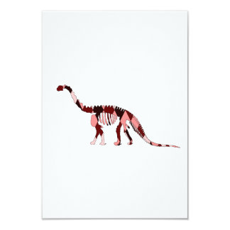 camarasaurus skeleton card