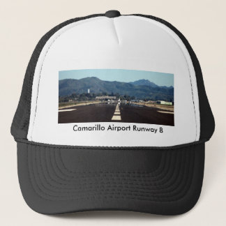 Camarillo Departure , Camarillo Airport Runway 8 Trucker Hat