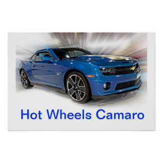 Camaro Hot Wheels Special Edition Poster