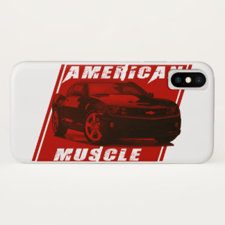 Camaro Sees Red iPhone X Case