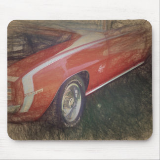 Camaro SS 350 Mouse Pad