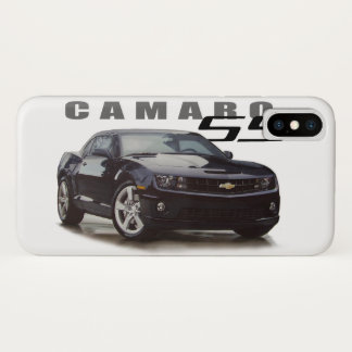 Camaro SS in Black iPhone X Case