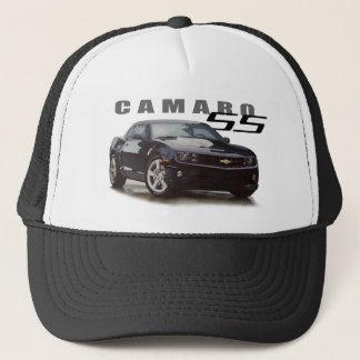 Camaro SS in Black Trucker Hat