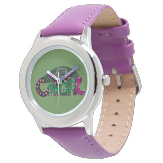 Camarone Pompadour Cowgirl Watch