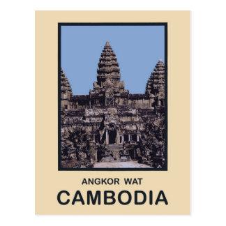 Cambodia Angkor Wat Postcard