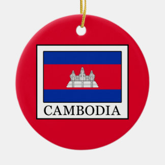 Cambodia Ceramic Ornament