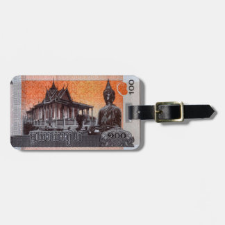 Cambodia Currency Luggage Tag