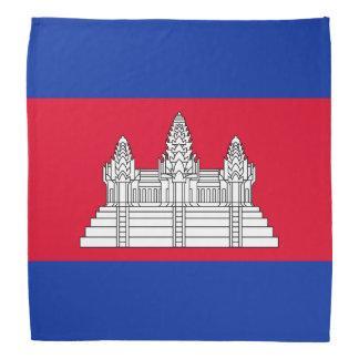 Cambodia Flag Bandana