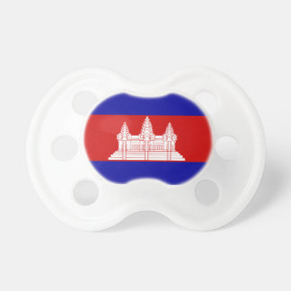 Cambodia Flag Booginhead Pacifier
