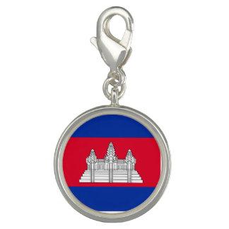 Cambodia Flag Charm