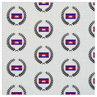 Cambodia Flag Fabric
