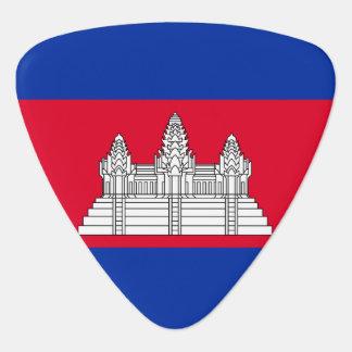 Cambodia Flag Guitar Pick