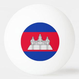 Cambodia Flag Ping Pong Ball