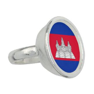 Cambodia Flag Ring