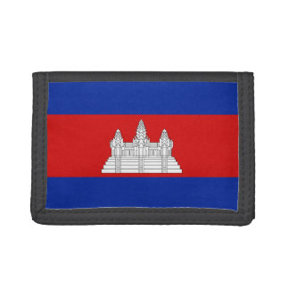 Cambodia Flag Wallet