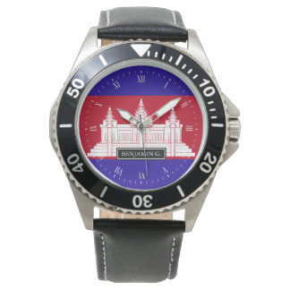 Cambodia Flag Watch