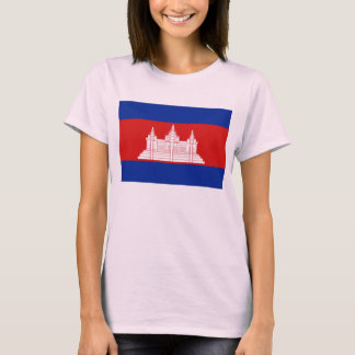Cambodia Flag x Map T-Shirt
