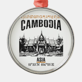 Cambodia Metal Ornament