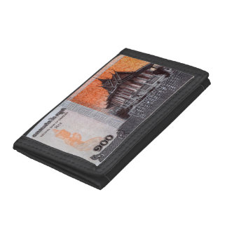 Cambodia Money Trifold Wallet