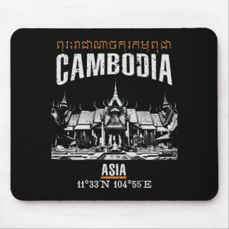 Cambodia Mouse Pad