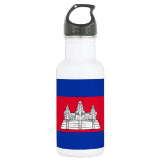 Cambodia National World Flag 532 Ml Water Bottle