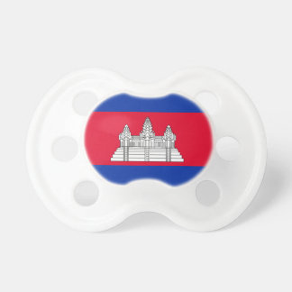 Cambodia National World Flag Pacifier