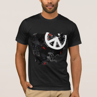 Cambodia Trendy Peace Sign with Cambodian map T-Shirt