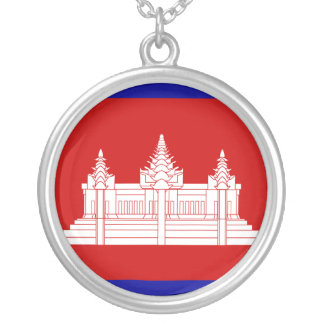 Cambodia Under French Protection, Cambodia Silver Plated Necklace