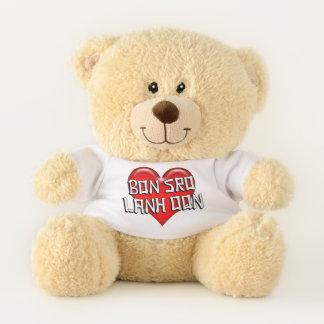 Cambodian Bon Sro Lanh Oon I Love You Red Heart Teddy Bear
