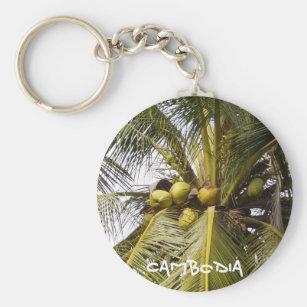 Cambodian Coconut keychain