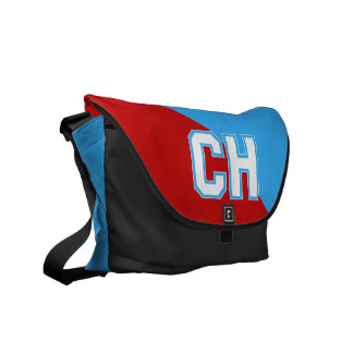 Cambria Heights Highlanders CH Design Messenger Bags