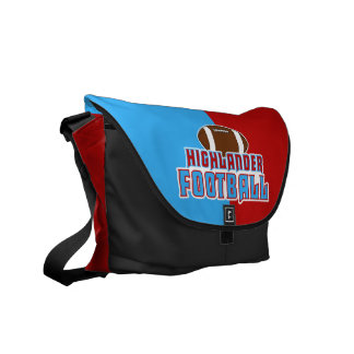 Cambria Heights Highlanders Football Design Commuter Bags