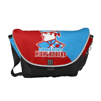Cambria Heights Highlanders Logo Design Courier Bags