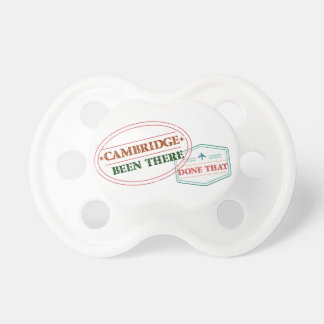 Cambridge Been there done that Pacifier