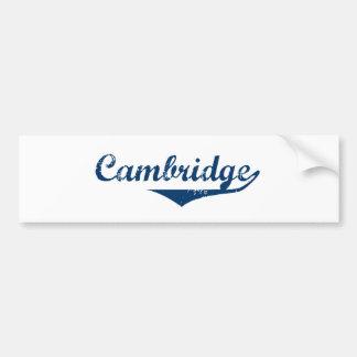 Cambridge Bumper Sticker
