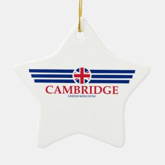 Cambridge Ceramic Ornament